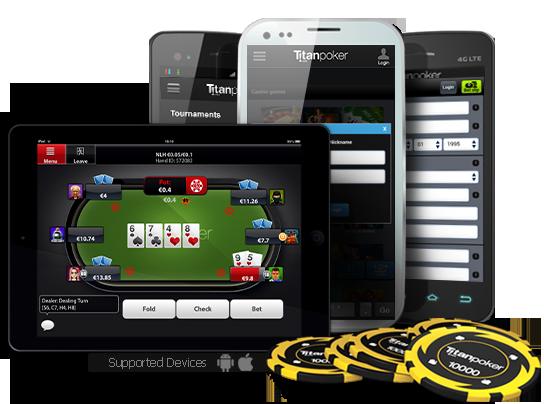 Мобильный софт Titanpoker.