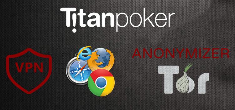способы обхода блокировки сайта Titanpoker.