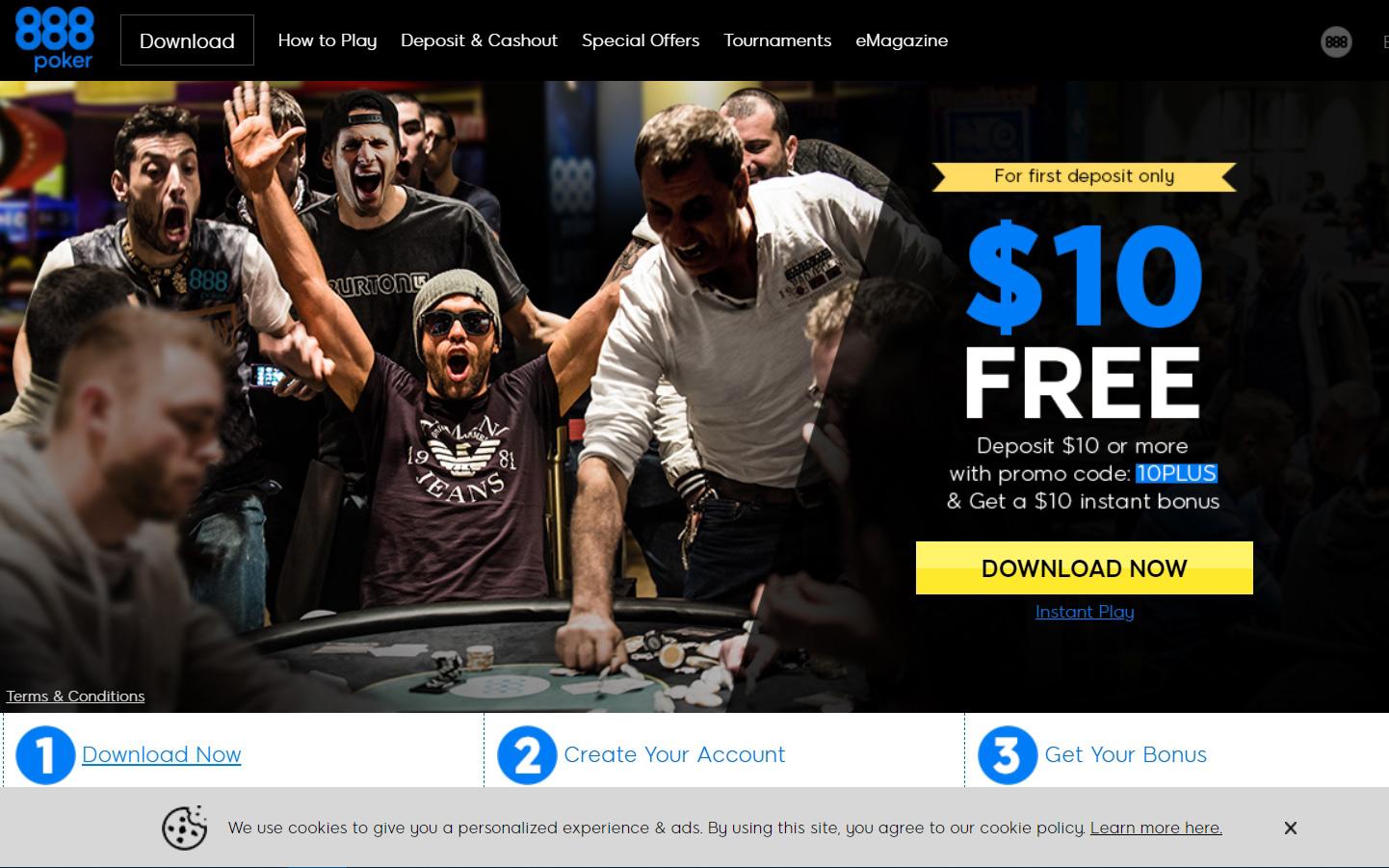 Официальный сайт 888poker.