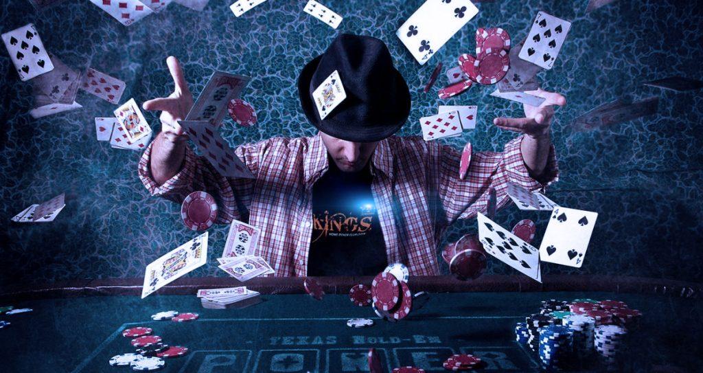 Тильт у покериста.